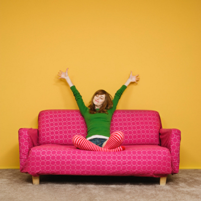 Sofa in Pink - by Jupiterimages Brand X PicturThinkstock